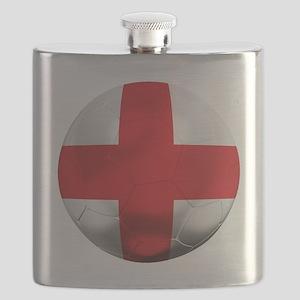 England Football Flask
