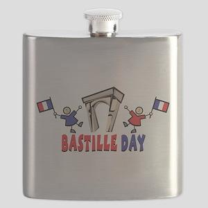 Bastille Day Flask