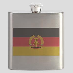 East Germany Flag Flask