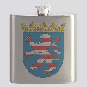 Hesse Coat Of Arms Flask
