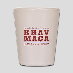 Krav Maga USA Shot Glass