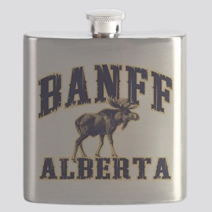 Banff Moose Flask