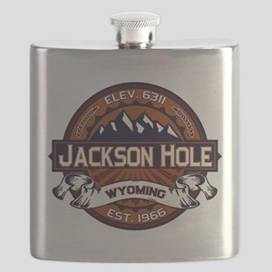 Jackson Hole Vibrant Flask