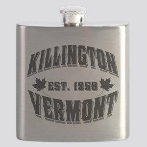 Killington Old Style Black Flask
