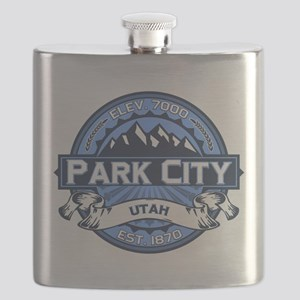 Park City Blue Flask