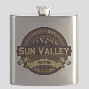Sun Valley Sepia Flask