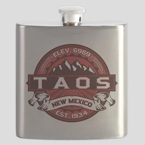 Taos Red Flask