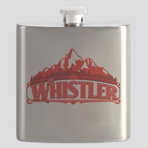Whistler Canada Red Mountain Flask