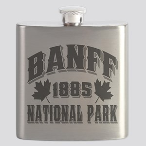 Banff NP Old Style Obsidian Flask