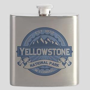 Yellowstone Blue Flask