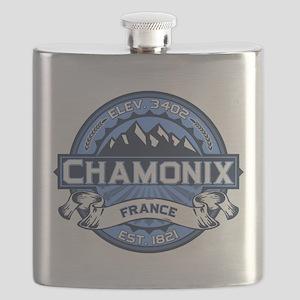 Chamonix Blue Flask