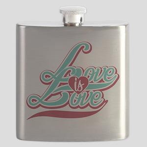 Love is Love Flask