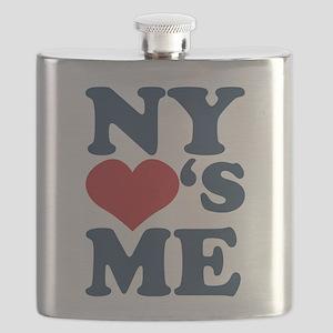 NY Loves Me Flask