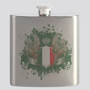 Italy Shield Flask