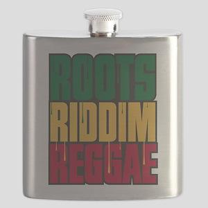 Roots Riddim Reggae Flask