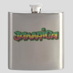 Jamaica Graffiti Flask