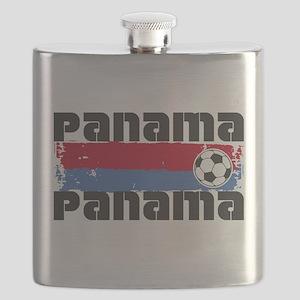 Panama Soccer Flask