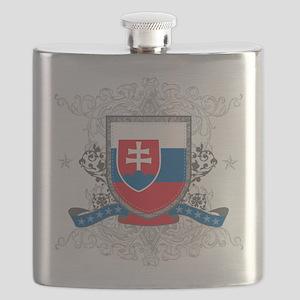 Slovakia Shield Flask