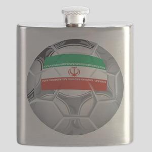 Iran Soccer Flask