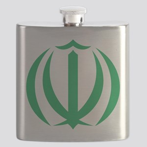 Iran Coat Of Arms Flask