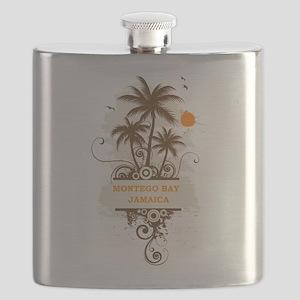 Montego bay Jamaica Flask