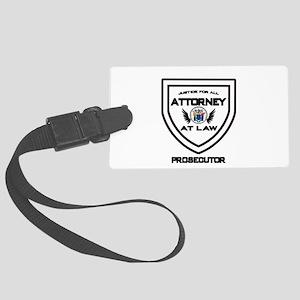 Attorney Badge - Prosecutor Large Luggage Tag