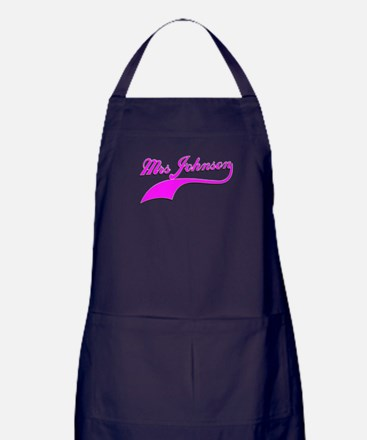 Mrs Johnson Apron (dark)