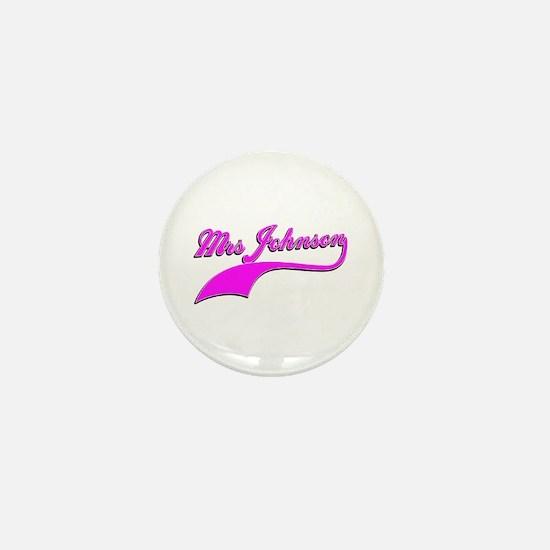 Mrs Johnson Mini Button
