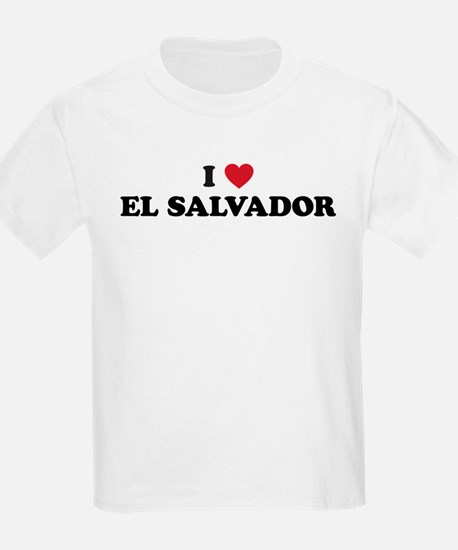 I Love El Salvador T-Shirt
