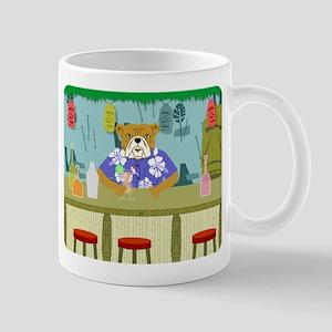 Bulldog Tiki Bar Coffee Mug