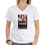 Switch Women's V-Neck T-Shirt