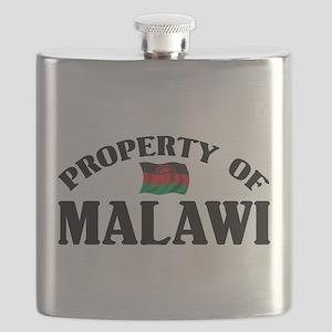 Property Of Malawi Flask