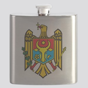 Moldova Coat Of Arms Flask