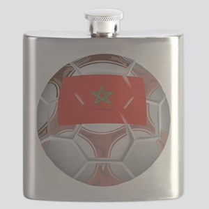 Morocco Soccer Flask