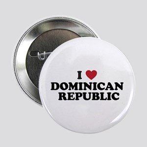 "I Love Dominican Republic 2.25"" Button"