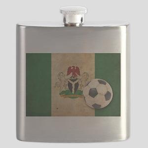 Vintage Nigeria Football Flask