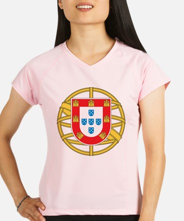Portugal Coat Of arms Performance Dry T-Shirt