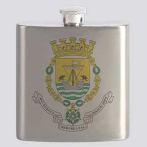 Lisbon Coat Of Arms Flask