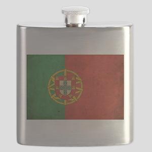 Vintage Portugal Flag Flask
