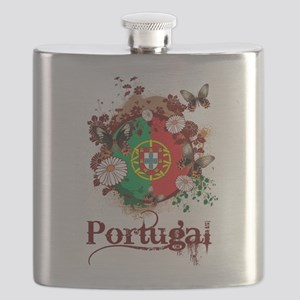 Butterfly Portugal Flask