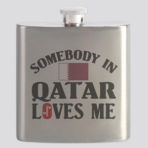 Somebody In Qatar Flask