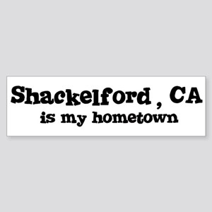 Shackelford - hometown Bumper Sticker