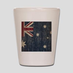Vintage Australia Flag Shot Glass