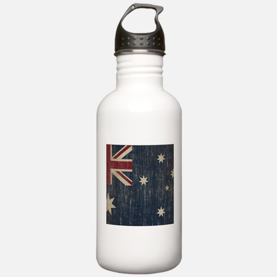 Vintage Australia Flag Water Bottle