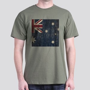 Vintage Australia Flag Dark T-Shirt