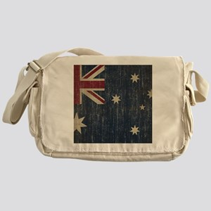 Vintage Australia Flag Messenger Bag