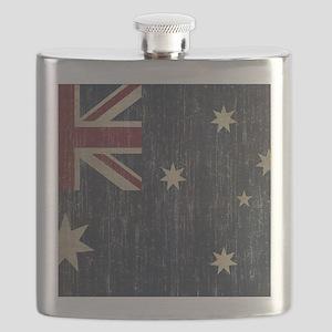 Vintage Australia Flag Flask