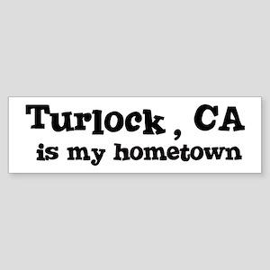 Turlock - hometown Bumper Sticker