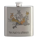cathouse Flask