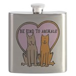 FIN-be-kind-to-animals Flask
